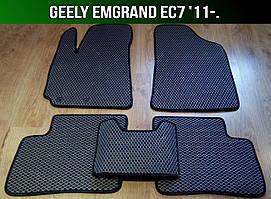 ЕВА коврики на Geely Emgrand EC7 '11-. Ковры EVA Джили Эмгранд ЕС ЕЦ 7