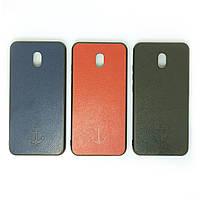 Чехол силиконовый для Xiaomi Redmi 8a | Leather case