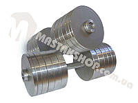 Гантели стальные наборные 2х48 кг (96 кг пара), фото 1