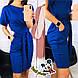 Свободное платье цвета электрик Rita (Код MF-180), фото 2