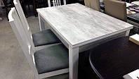 Стол обеденный Марсель 110(+35+35)х75 белый - Урбан Лайт
