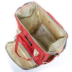 Сумка-рюкзак-органайзер для мамы  Lanpad D900 оранжевый, фото 2