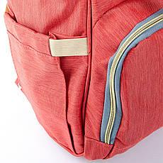 Сумка-рюкзак-органайзер для мамы  Lanpad D900 оранжевый, фото 3