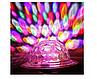 Светодиодный дискошар в патрон LED UFO Bluetooth Crystal Magic Ball E27, фото 5
