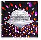 Светодиодный дискошар в патрон LED UFO Bluetooth Crystal Magic Ball E27, фото 6