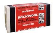 Rockwool Rockton (Роквул Роктон) утеплитель базальтовый для звукоизоляции 1000х610х50 мм в упаковке 7,32 м2