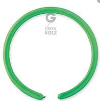Воздушные шары ШДМ D4 260/12 Шар конструктор зеленый