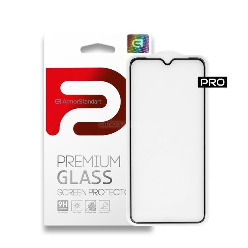 Защитное стекло Armorstandart Pro для Samsung Galaxy A71 SM-A715 Black, 0.33mm (ARM56179)