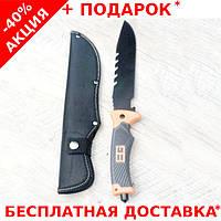 Тактический нож Gerber Bear Grylls 3022А c чехлом для выживальщиков охотников и диверсантов