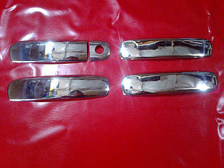 Накладки на ручки AUDI A6 C6 04-08 г.в.
