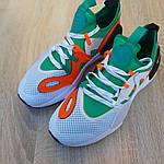 Мужские кроссовки Nike Air Huarache E.D.G.E (бело-зеленые) 1955, фото 9