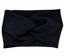 Повязка для волос теплая из ангоры