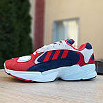Мужские кроссовки Adidas Yung (красно-синие) 1956, фото 4