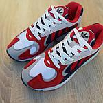 Мужские кроссовки Adidas Yung (красно-синие) 1956, фото 8