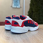 Мужские кроссовки Adidas Yung (красно-синие) 1956, фото 9