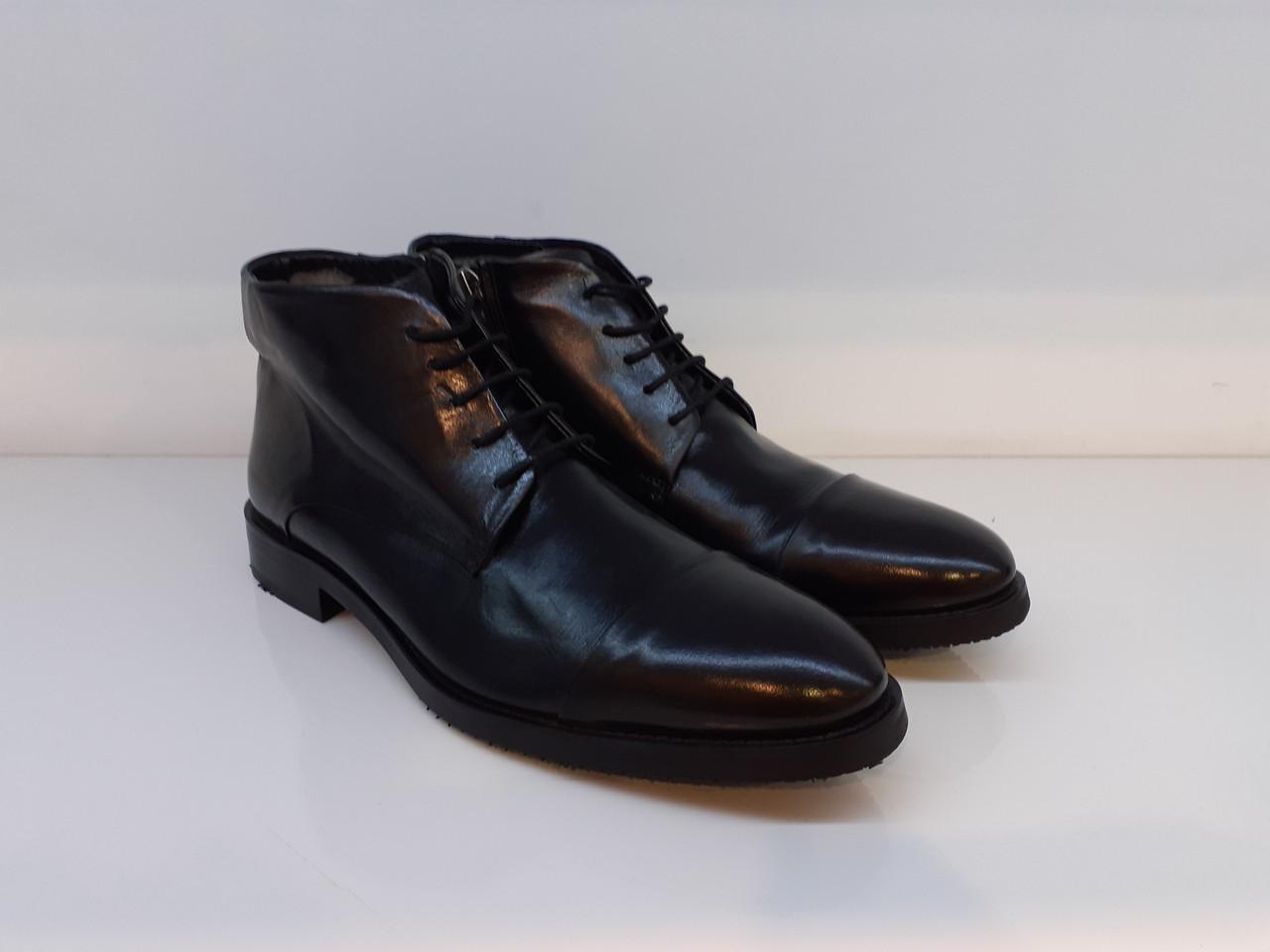 Ботинки Etor 13904-7266-2003 42 черные