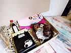 """Подарок для неё на 8 марта - комплимент """"Кофейный клатч"""" с кофе и шоколадом, фото 2"""