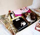 """Подарок для неё на 8 марта - комплимент """"Кофейный клатч"""" с кофе и шоколадом, фото 4"""