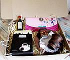"""Подарок для неё на 8 марта - комплимент """"Кофейный клатч"""" с кофе и шоколадом, фото 5"""