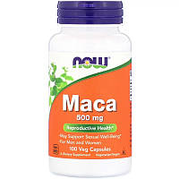 Для повышения тестостерона Now Foods Maca 500 mg 100 капс.