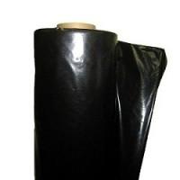 Плёнка тепличная 150 мкр. Чёрная полиэтиленовая шириной 6 м
