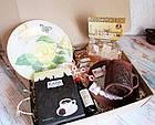 """Подарок для женщины - набор """"Золотая Роза"""" с кофе и сладостями, фото 3"""