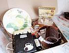 """Подарок для женщины - набор """"Золотая Роза"""" с кофе и сладостями, фото 2"""