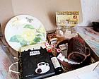 """Подарок для женщины - набор """"Золотая Роза"""" с кофе и сладостями, фото 4"""