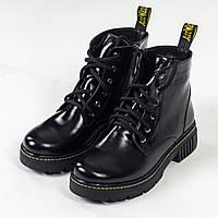 Демісезонні черевики Dr. Martens 1460 *без хутра *лакована шкіра / Ботинки Boston 1460 *лаковые
