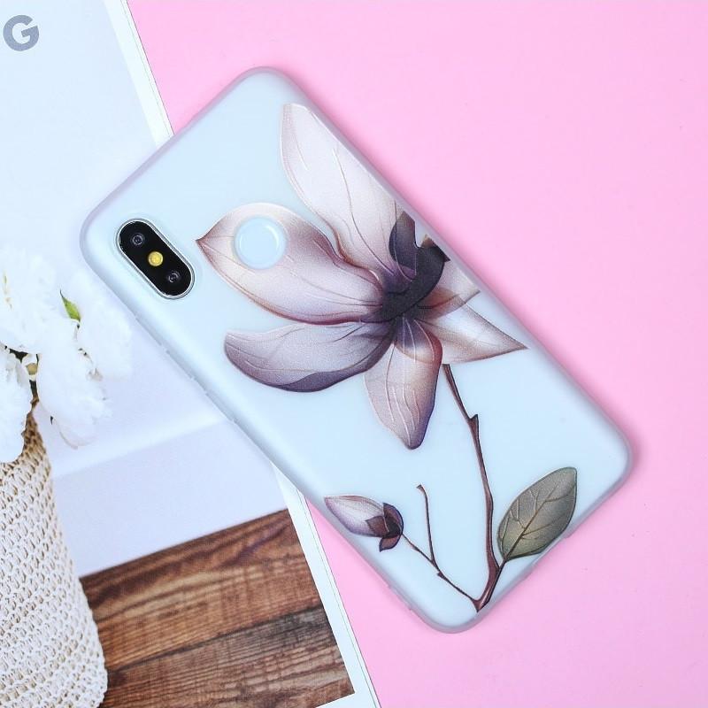 Чехол для Xiaomi Redmi Note 6 Pro, бампер, накладка, чохол, силиконовый, силіконовий