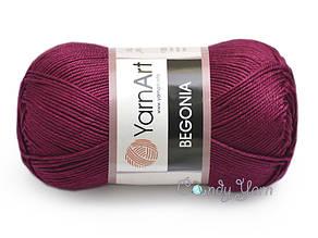YarnArt Begonia, Бордо №112