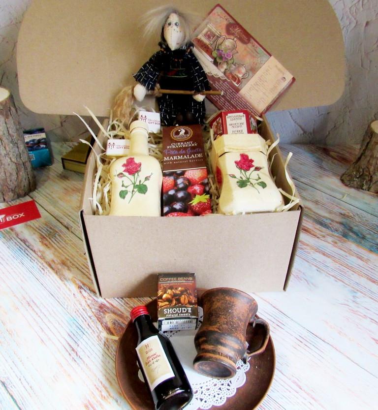 """Креативный подарок на 8 марта для неё - набор """"Кофейная Роза"""""""