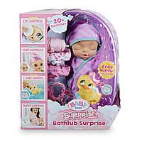 Большой пупс кукла Беби Борн Сюрприз с ванной Baby Born Bathtub Surprise. Оригинал