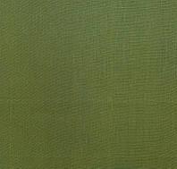 Льняная ткань для постельного белья зеленого цвета (шир. 260 см)