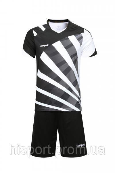 Игровая форма для команд черно-белая 023 Европав