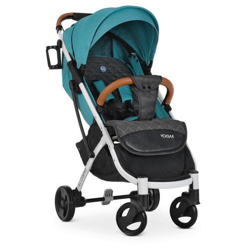 Коляска детская  M 3910 YOGA II Turquoise-W бирюзовая