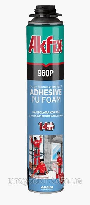 Пена-клей Akfix 960 MANTOLAMA 900 мл профессиональная
