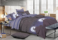 Двуспальный комплект постельного белья 180*220 сатин (13332) TM КРИСПОЛ Украина