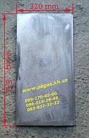 Плита чугунная печная (320х620 мм) барбекю, мангал, печи, фото 1