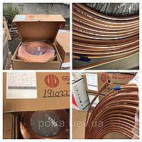 Труба медная (мідна) GD COPPER ¼ (6.35mm х 0.76mm)