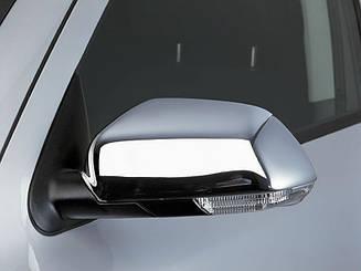 Накладки на зеркала нерж Skoda Octavia A5 2004-2009