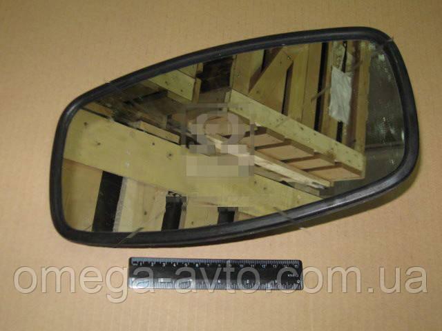 Зеркало КАМАЗ 320х170 плоское метал.корп. и крепл. (Россия) 5320-8201020