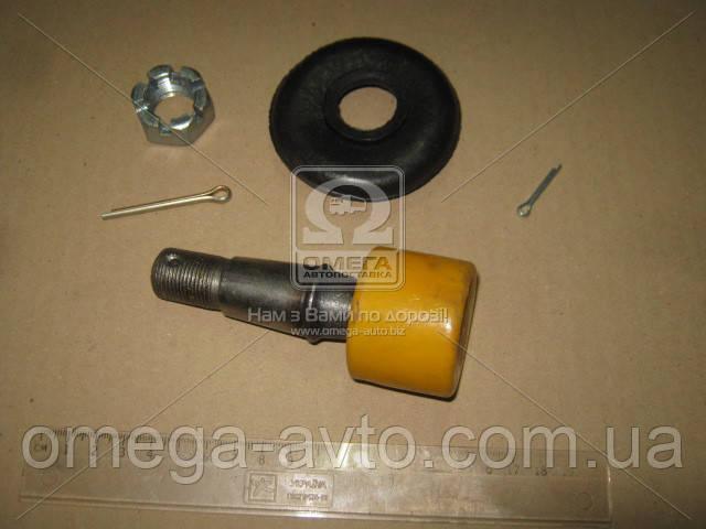 Ремкомплект тяги рулевой ЗИЛ 5301, 4331, ПАЗ ПРЕМИУМ (полиуретан желтый, полный, палец с резьбой)
