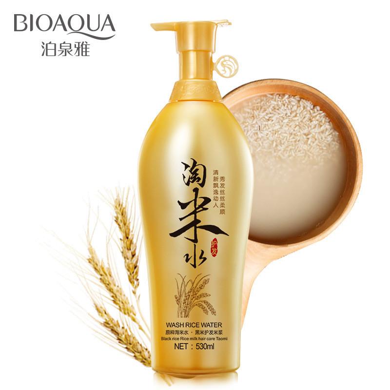 Шампунь для волос с рисовой водой Bioaqua Wash Rise Water Shampoo (530мл)
