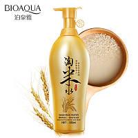 Шампунь для волос с рисовой водой Bioaqua Wash Rise Water Shampoo (530мл), фото 1