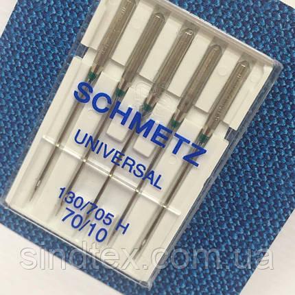 Иглы универсальные Schmetz Universal 70/10 5 иголок (шметс-04), фото 2