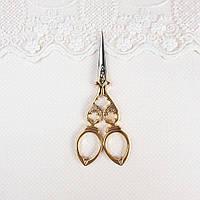"""Ножницы для рукоделия и вышивки """"Vintage"""" золото, 12 см, фото 1"""