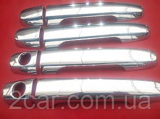 Накладки на ручки Toyota Auris 2007-2012