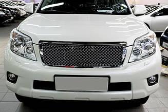 Решетка хром Toyota Land Cruiser Prado 150 2010-2014 под Бентли