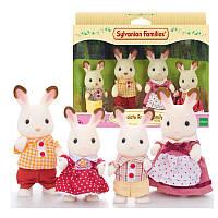 Игрвой набор Семья шоколадных Кроликов Sylvanian Families  Calico Criters